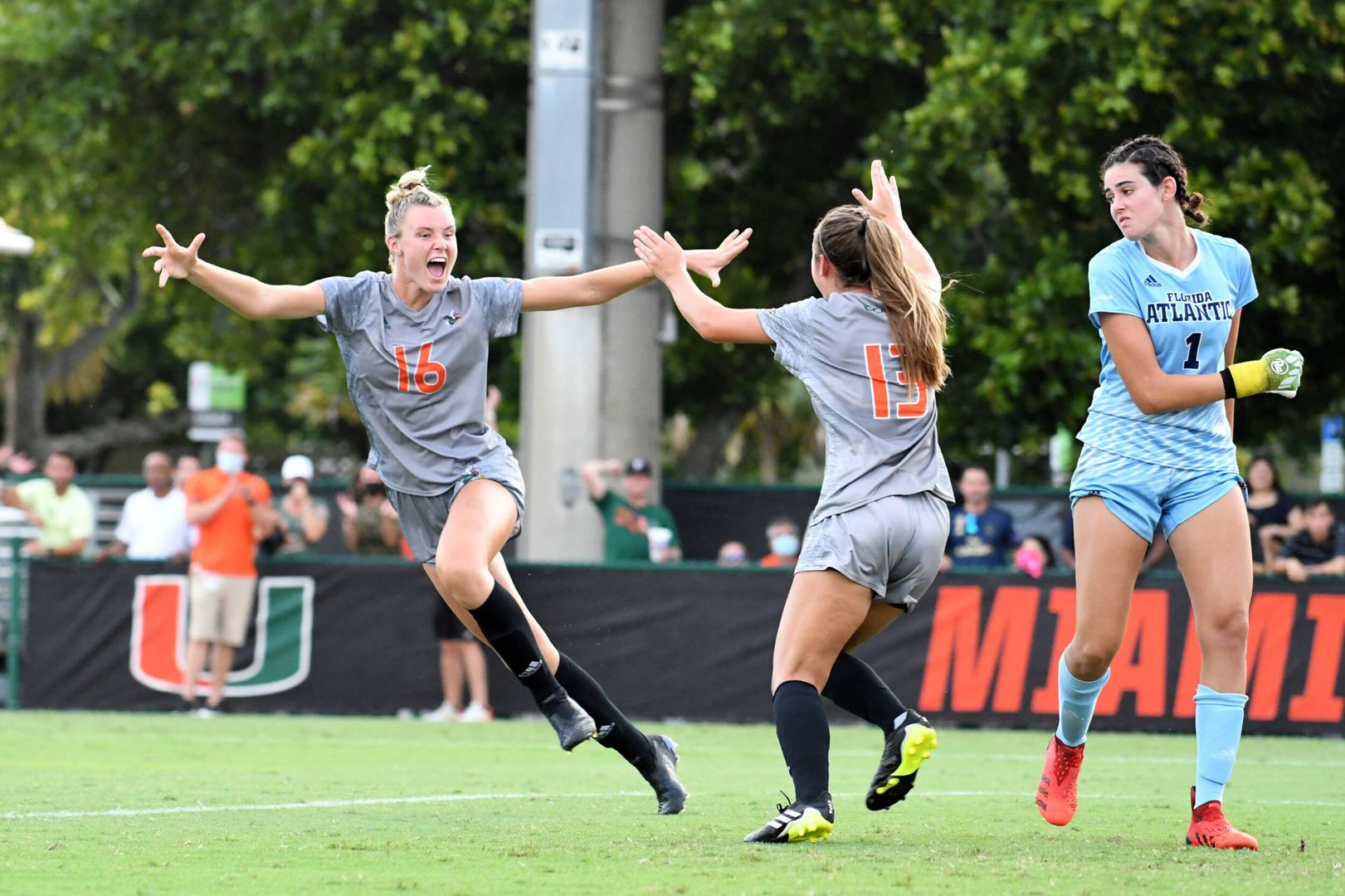 Canes Fly Past Owls in Season Opener