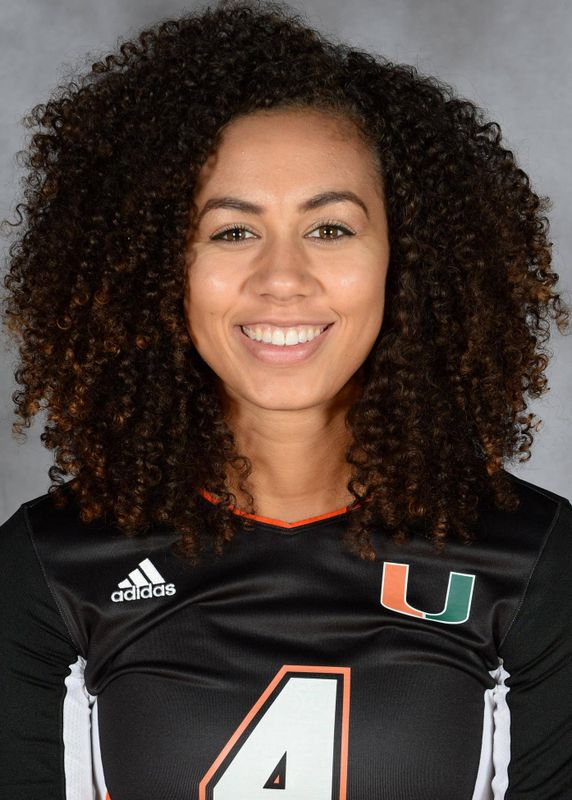 Alexis Mourning - Volleyball - University of Miami Athletics