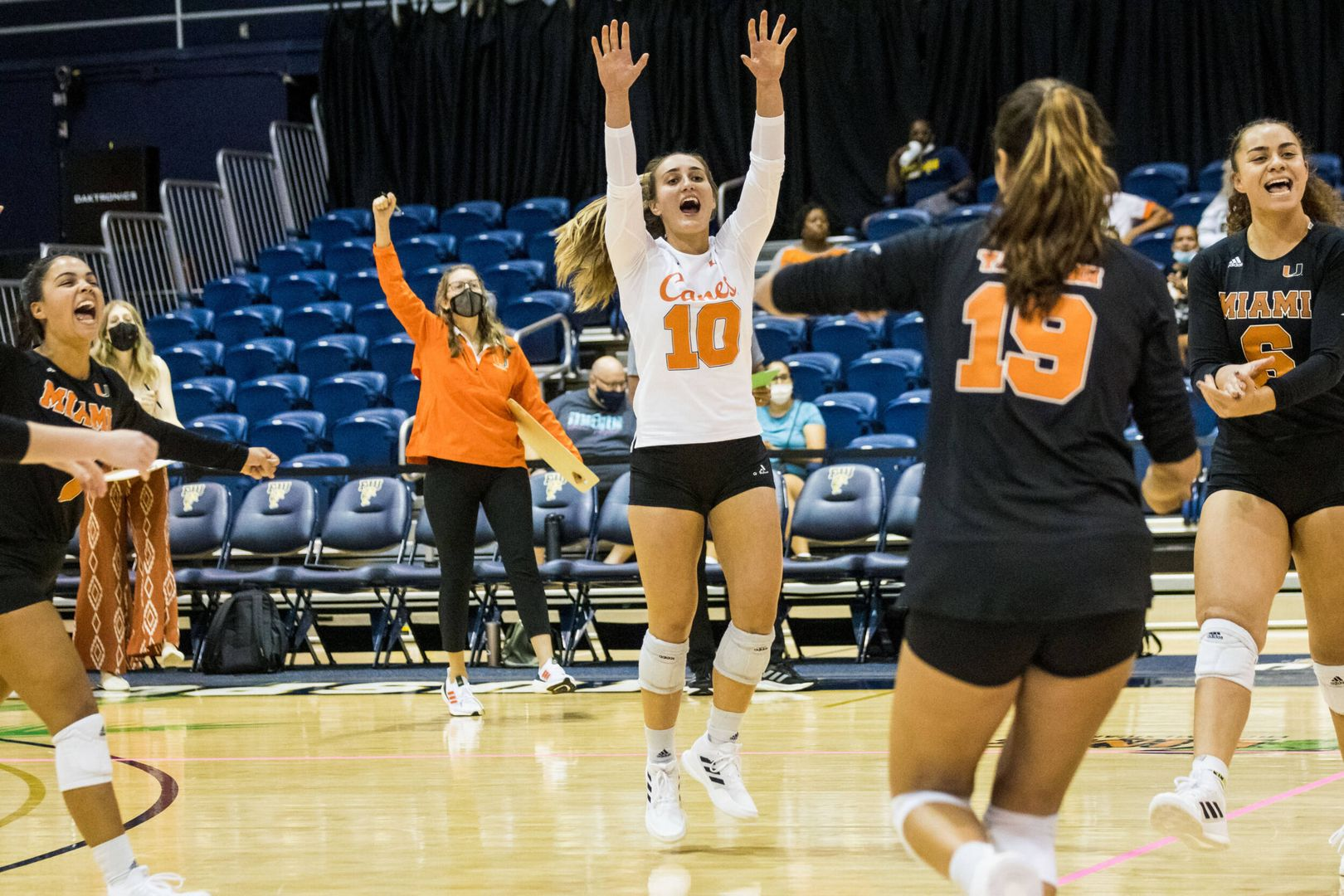 Canes Best Panthers in Three Sets