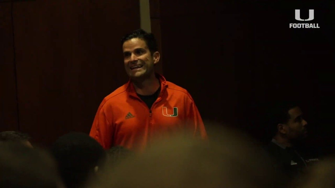 Canes Football   First Team Meeting 2019   01.14.19