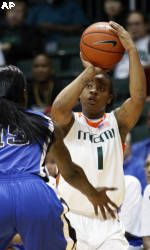 Young `Canes Snap Maryland's 48-Game Home Winning Streak