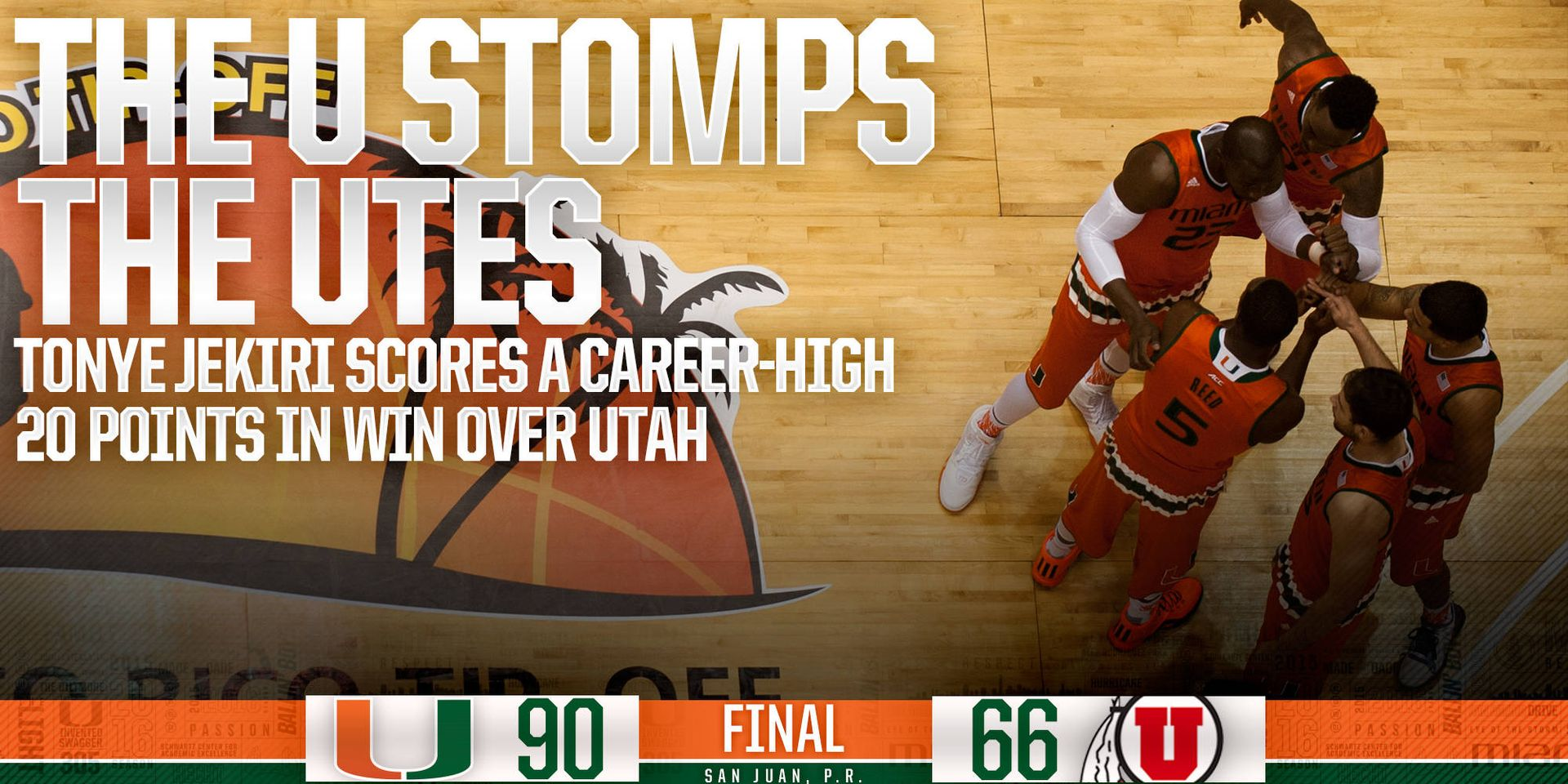 The U Stomps The No. 16 Utes
