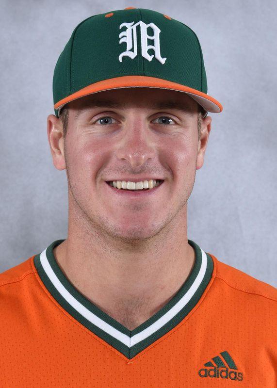 Chad Crosbie - Baseball - University of Miami Athletics