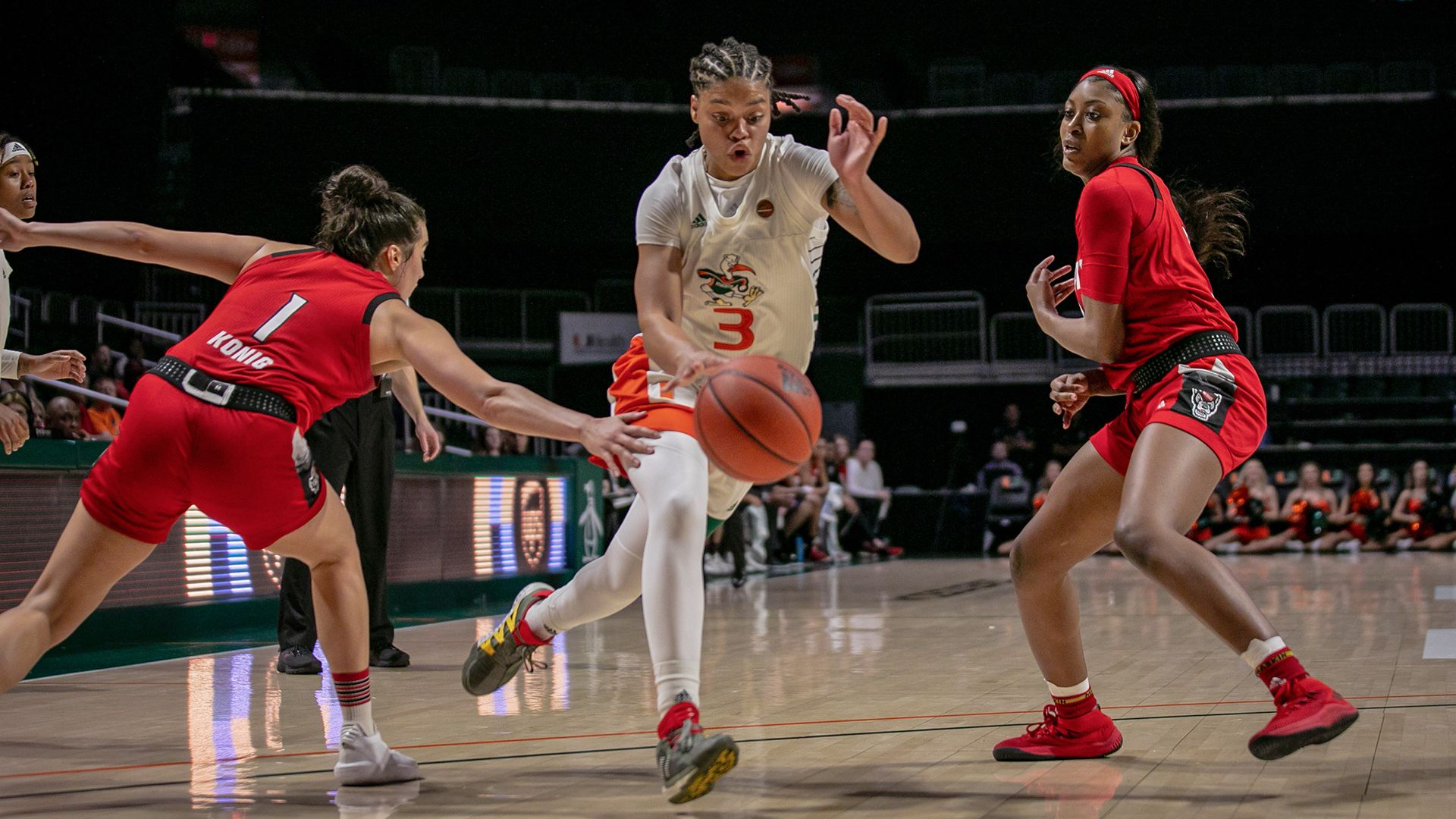 Miami Falls Just Short to No. 10 NC State