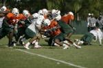 Hurricanes Wrap Up Ninth Session of Spring Practice