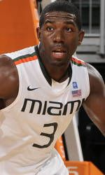 Grant Drains 21 points in Canes' 60-50 Win