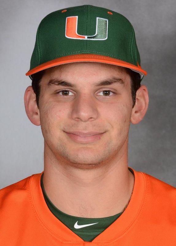 AJ Salcines - Baseball - University of Miami Athletics