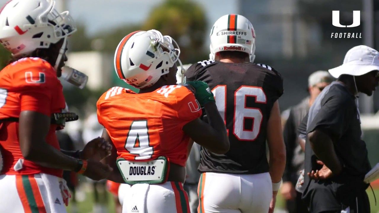 One on One with Jeff Thomas | Canes Football | 8.24.17