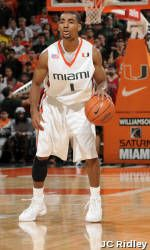 Miami Closes Regular-Season with 72-64 Win Over NC State