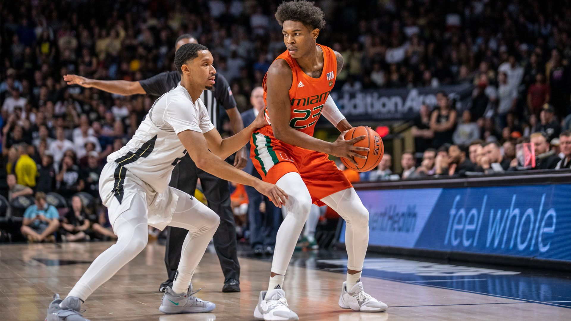 MBB Charges Past UCF, 79-70, in Orlando
