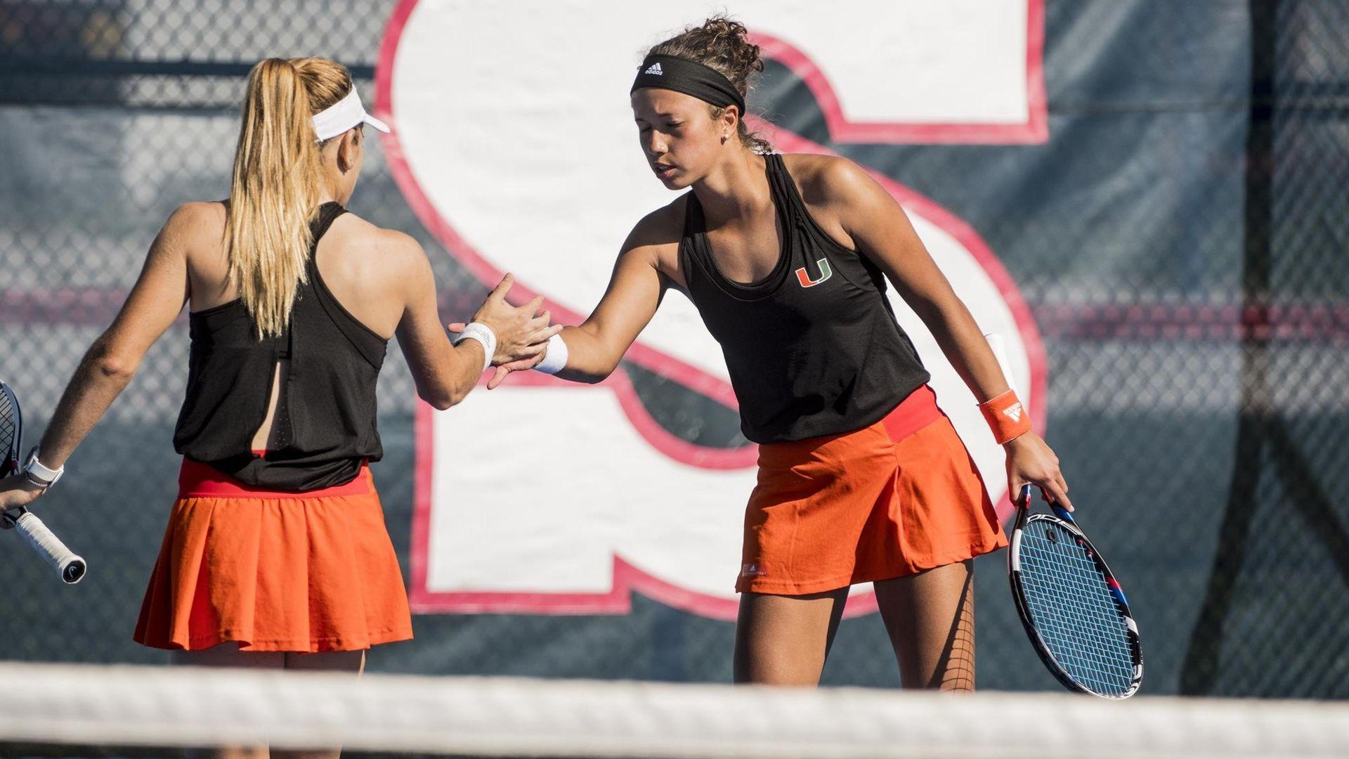 W. Tennis Blanks Florida Atlantic, 7-0