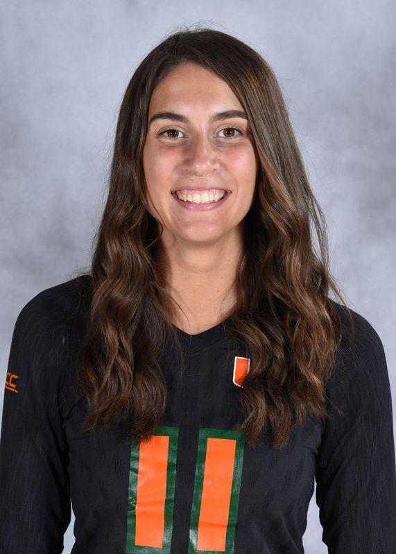 Lucia Pampana - Volleyball - University of Miami Athletics