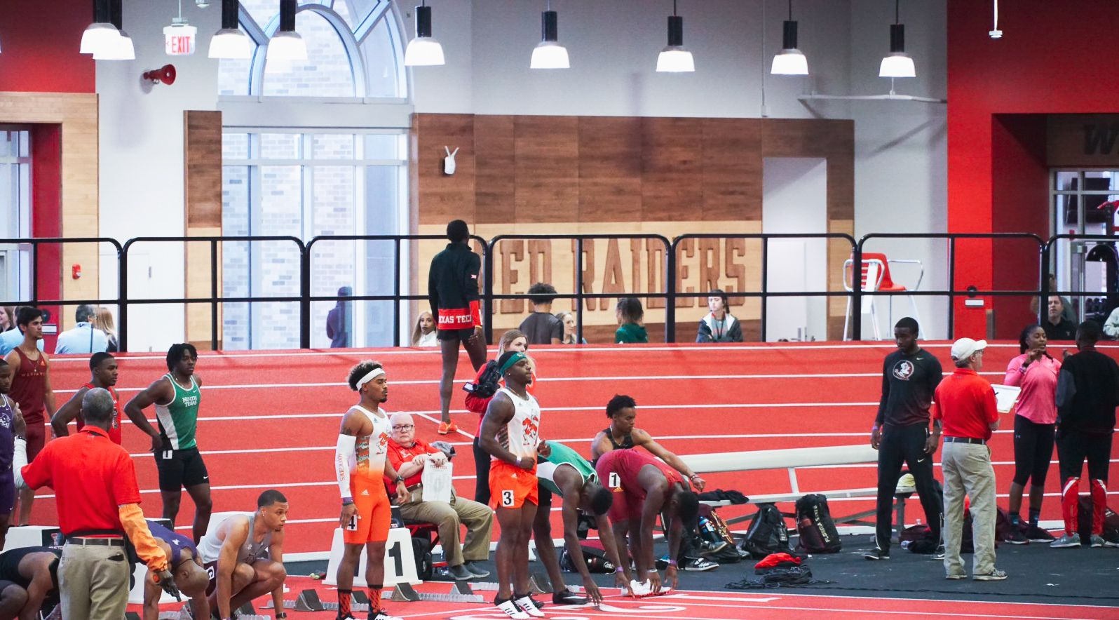 Ajagbe and Arreaga Win Weight Throw at Texas Tech Classic