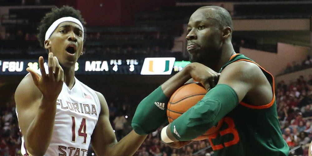 @CanesHoops Holds Off Florida State, 67-65