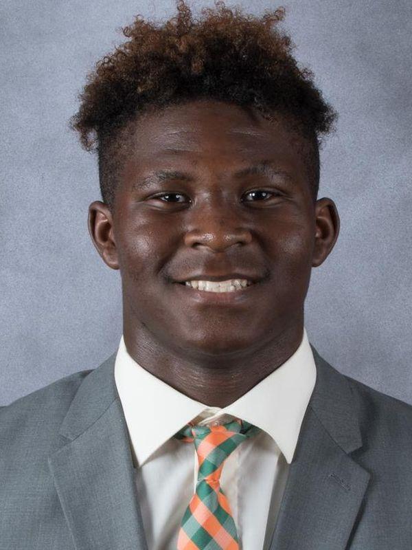 Shawn Walker - Football - University of Miami Athletics