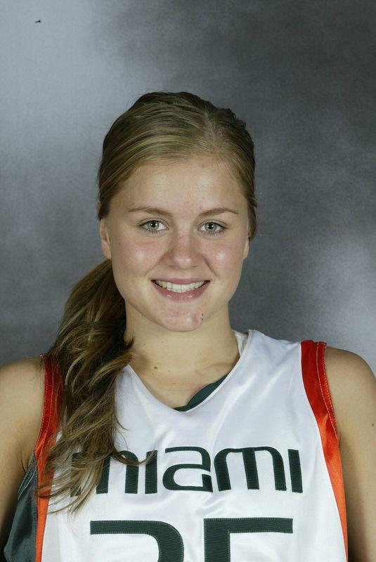 Sandra Jansson - Women's Basketball - University of Miami Athletics