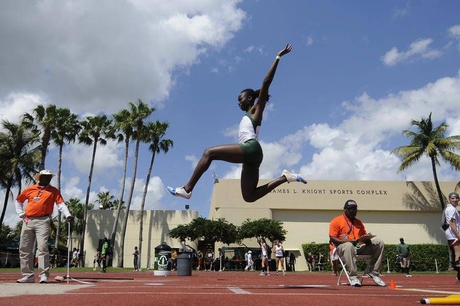 Samantha Williams Competes at Jamaican Trials