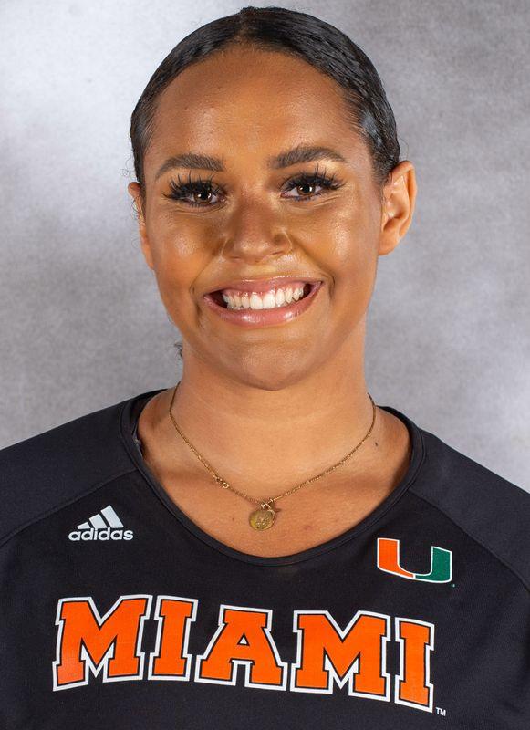 McKayla Vincent - Volleyball - University of Miami Athletics
