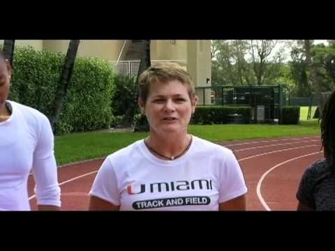 #OlympicCanes: Amy Deem, T'erea Brown, Lauryn Williams