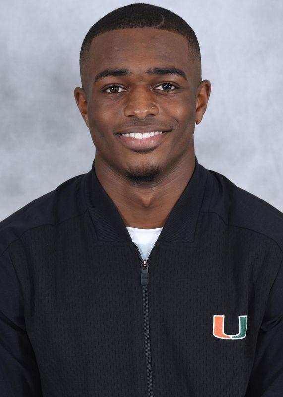 Myles Valentine - Track & Field - University of Miami Athletics