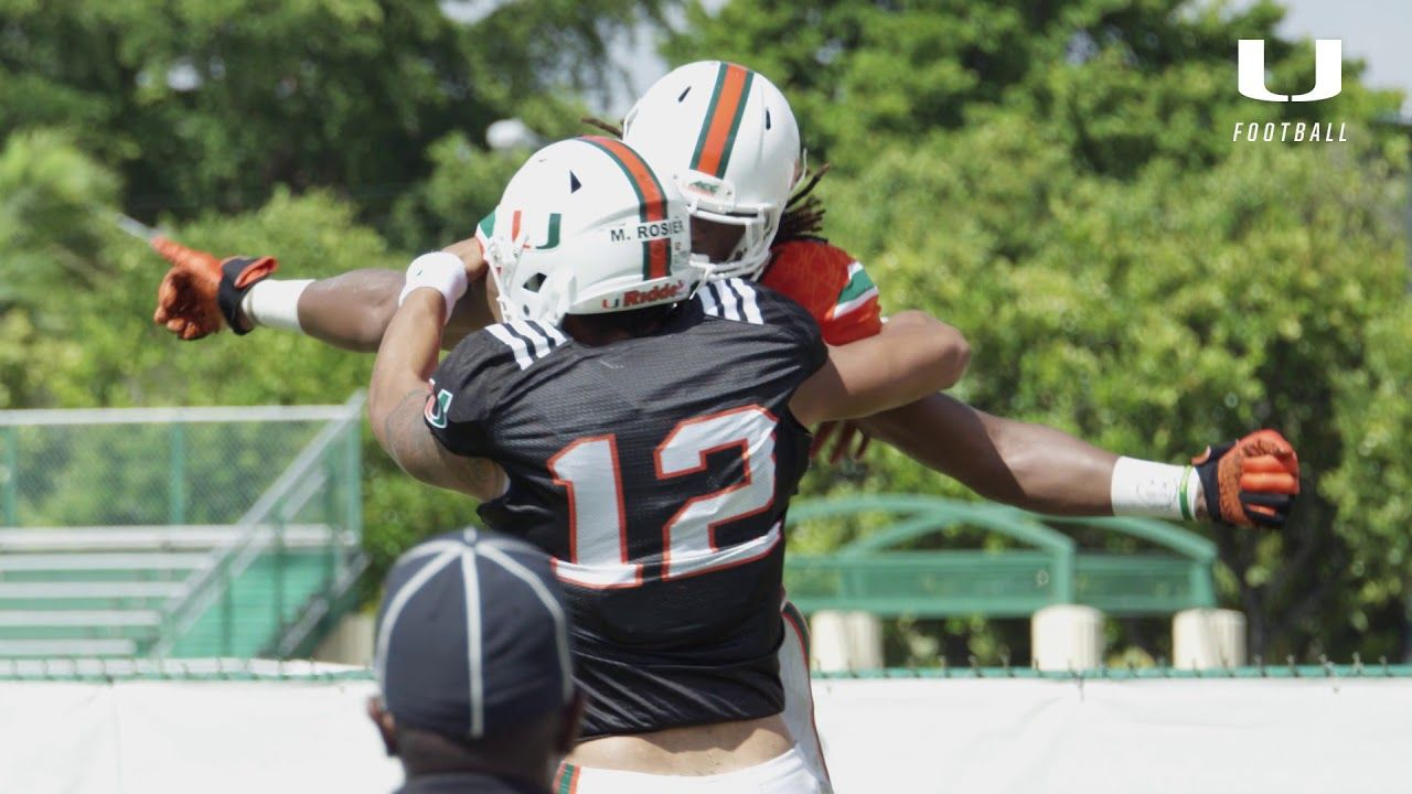 Canes Football | Scrimmage Two Highlights | 8.19.17