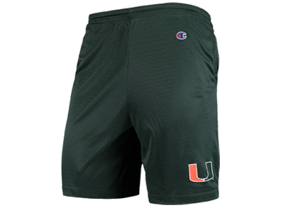Champion Miami Hurricanes College Mesh Shorts