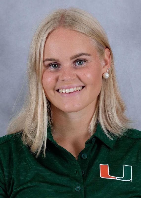 Anna Backman - Golf - University of Miami Athletics