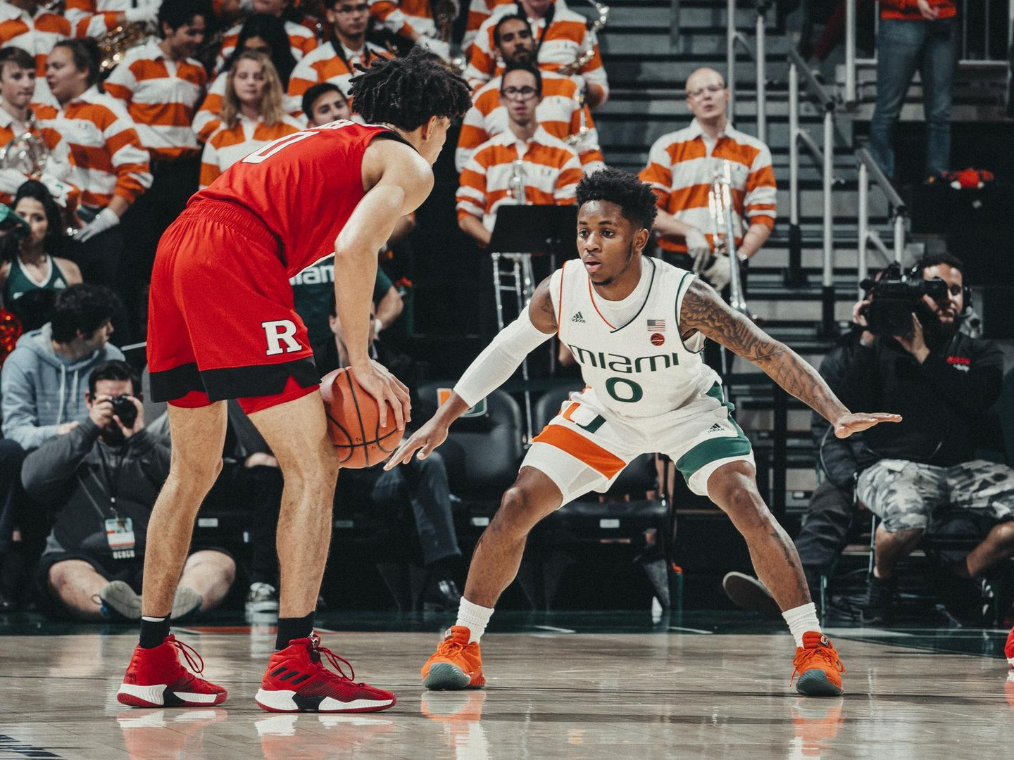 Canes Fall to Rutgers, 57-54