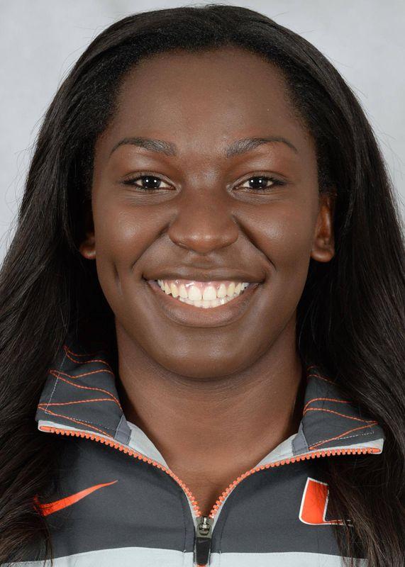 Lea Johnson - Track & Field - University of Miami Athletics