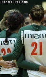 Canes Volleyball Set to Open 2011 Season