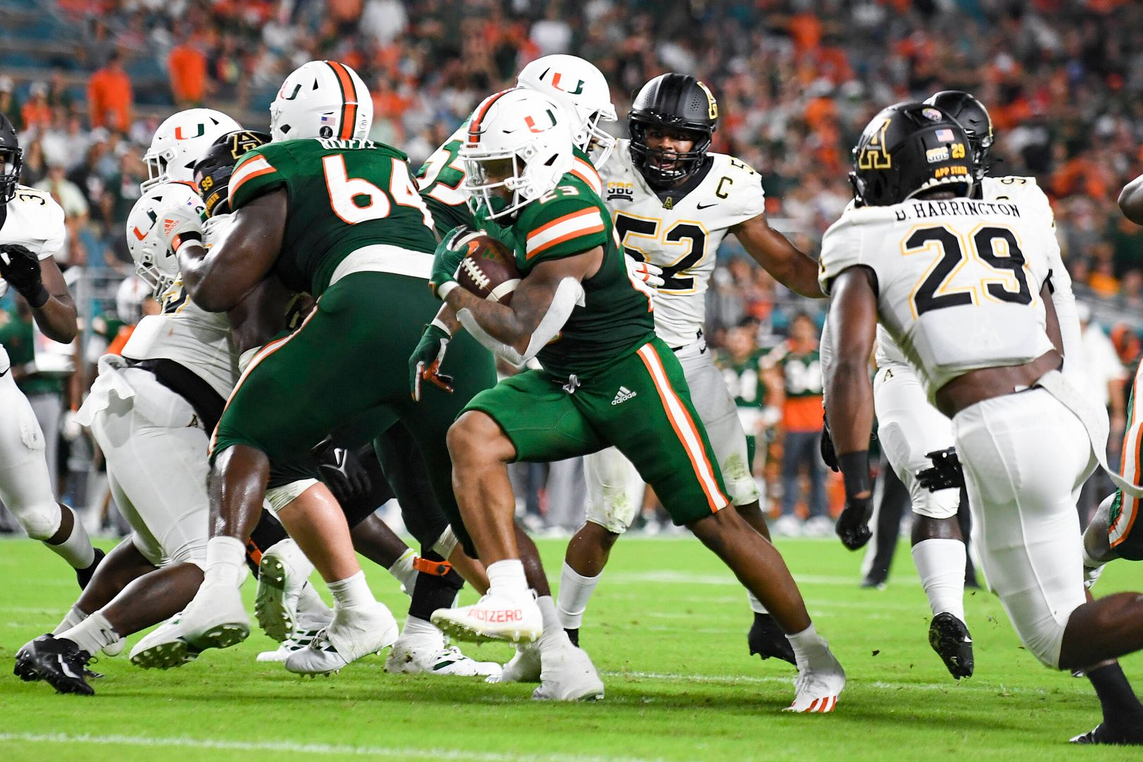 Photo Gallery: Canes Football vs App State