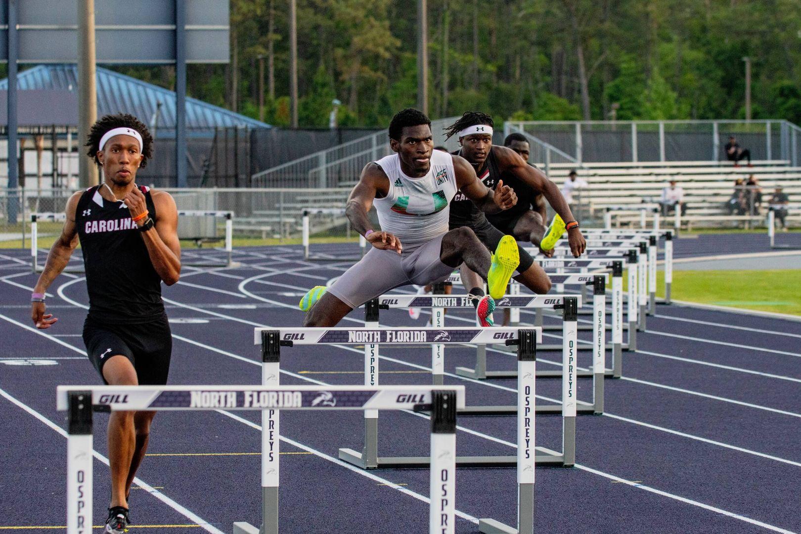 Brown Claims 400m Hurdles Program Record