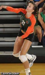 Miami Volleyball Welcomes Virginia, Virginia Tech