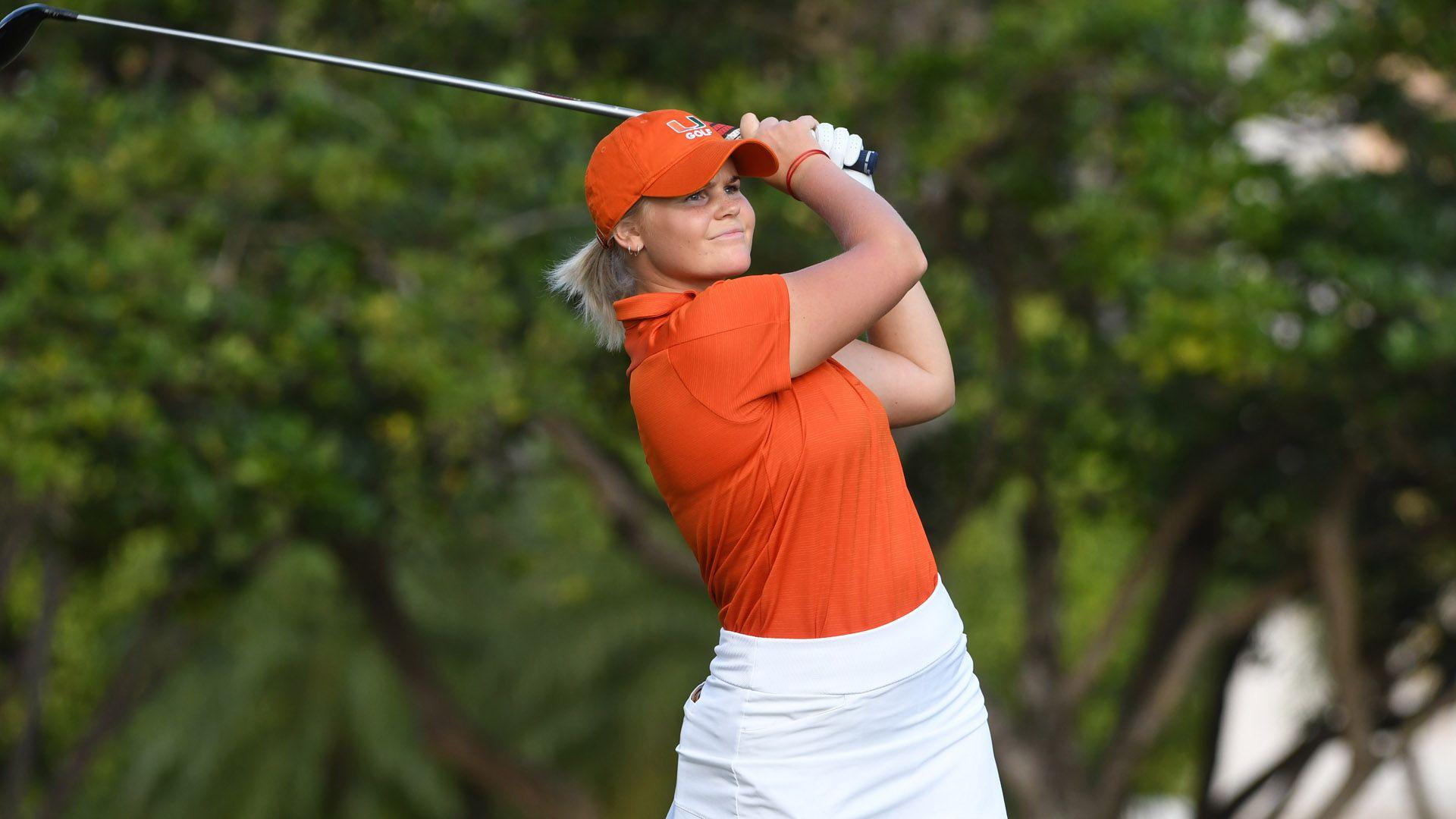 Quartet of Golfers Named WGCA All-Academic Scholars