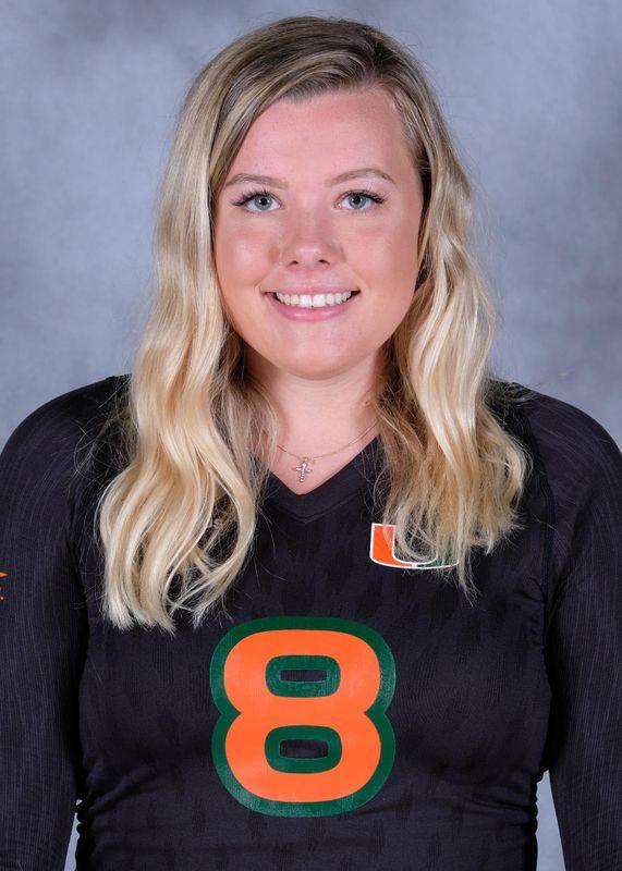Bridget Wallenberger - Volleyball - University of Miami Athletics