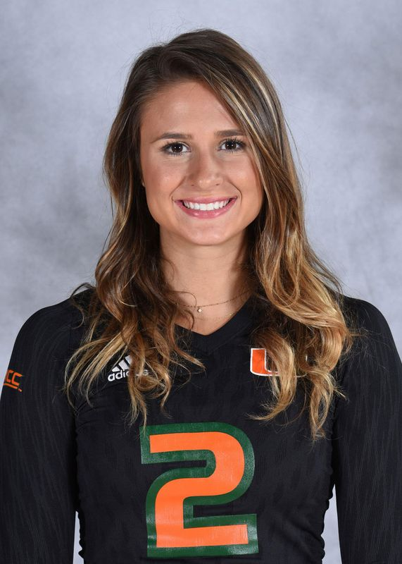 Maddie Naumann - Volleyball - University of Miami Athletics