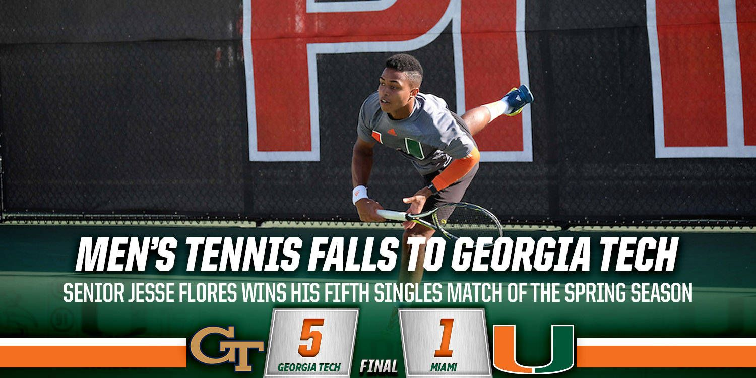 Canes Fall to the Yellow Jackets, 5-1