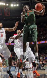 Canes Pull Away From Boston College, 76-54