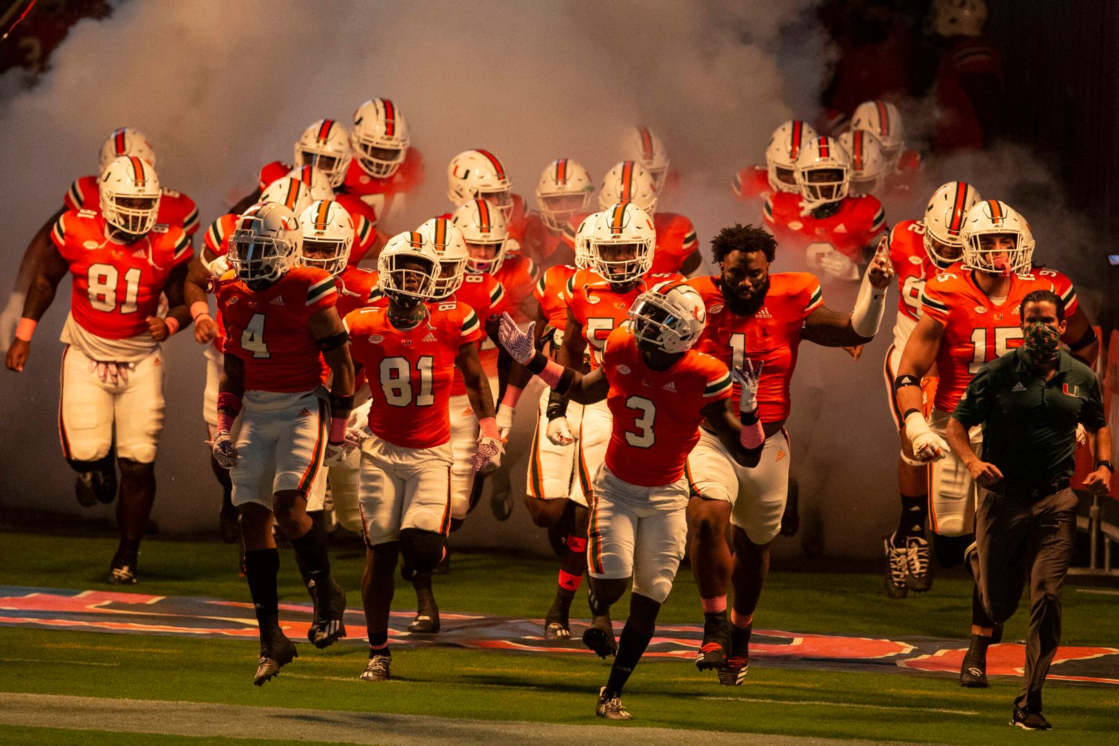 Canes Eager for ACC Test at NC State