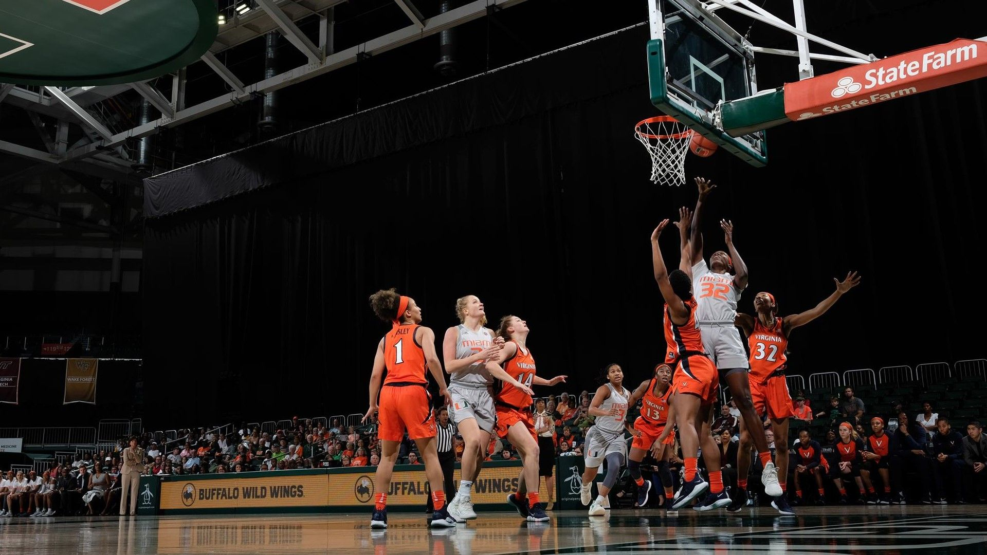 Mompremier Leads WBB to 72-59 Win over Virginia