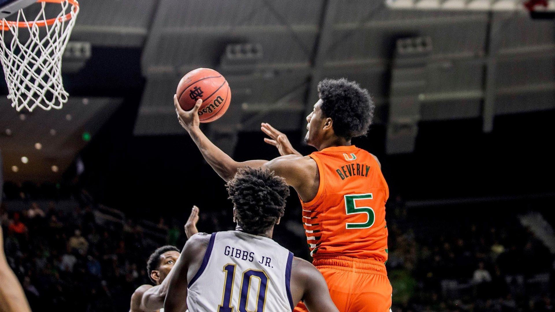 MBB Drops 87-71 Decision at Notre Dame