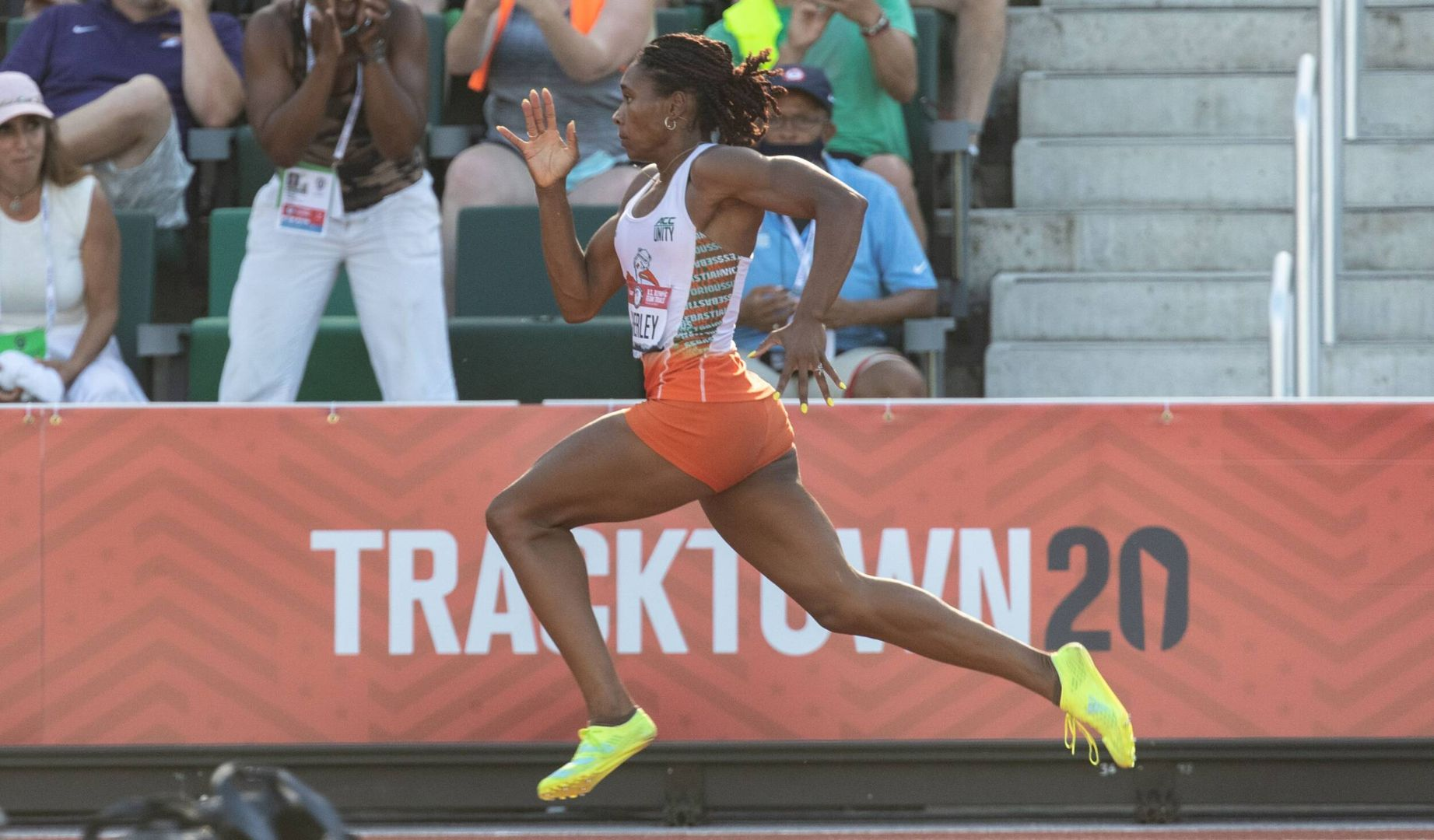 Atherley Sets PB and Program Record at Olympic Trials