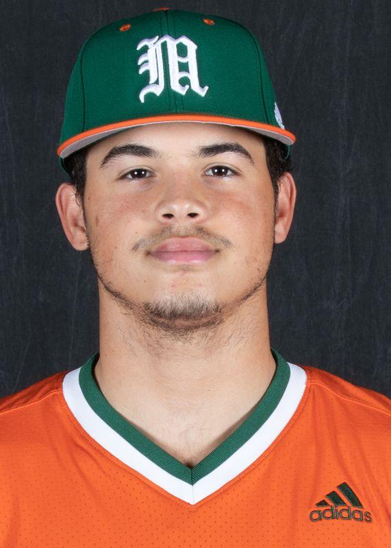 Carlos Perez - Baseball - University of Miami Athletics
