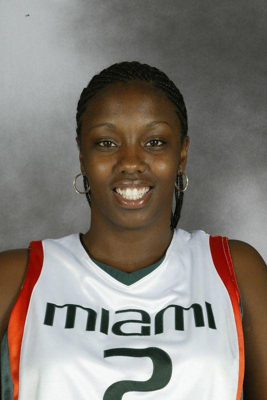 Tamara James - Women's Basketball - University of Miami Athletics
