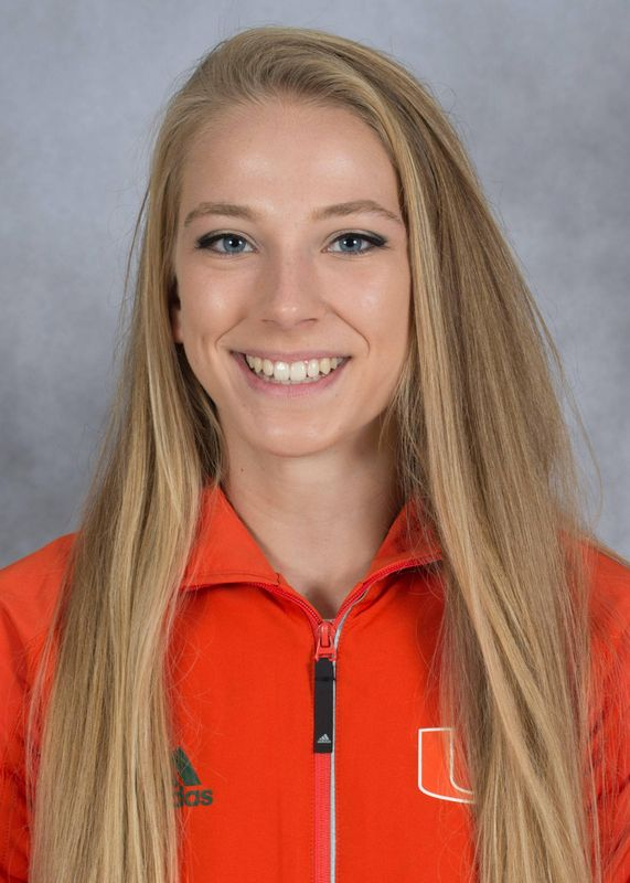 Erika Voyzey - Track & Field - University of Miami Athletics