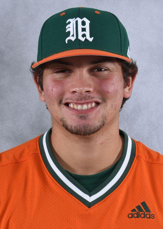 Isaac Quinones - Baseball - University of Miami Athletics