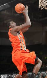 Collins Leads Hurricanes Over Florida Southern, 96-60