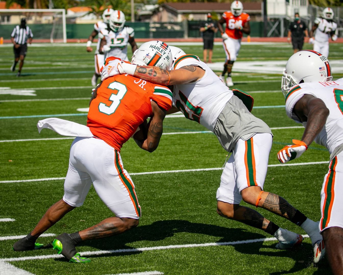 Takeaways from Miami's First Spring Scrimmage