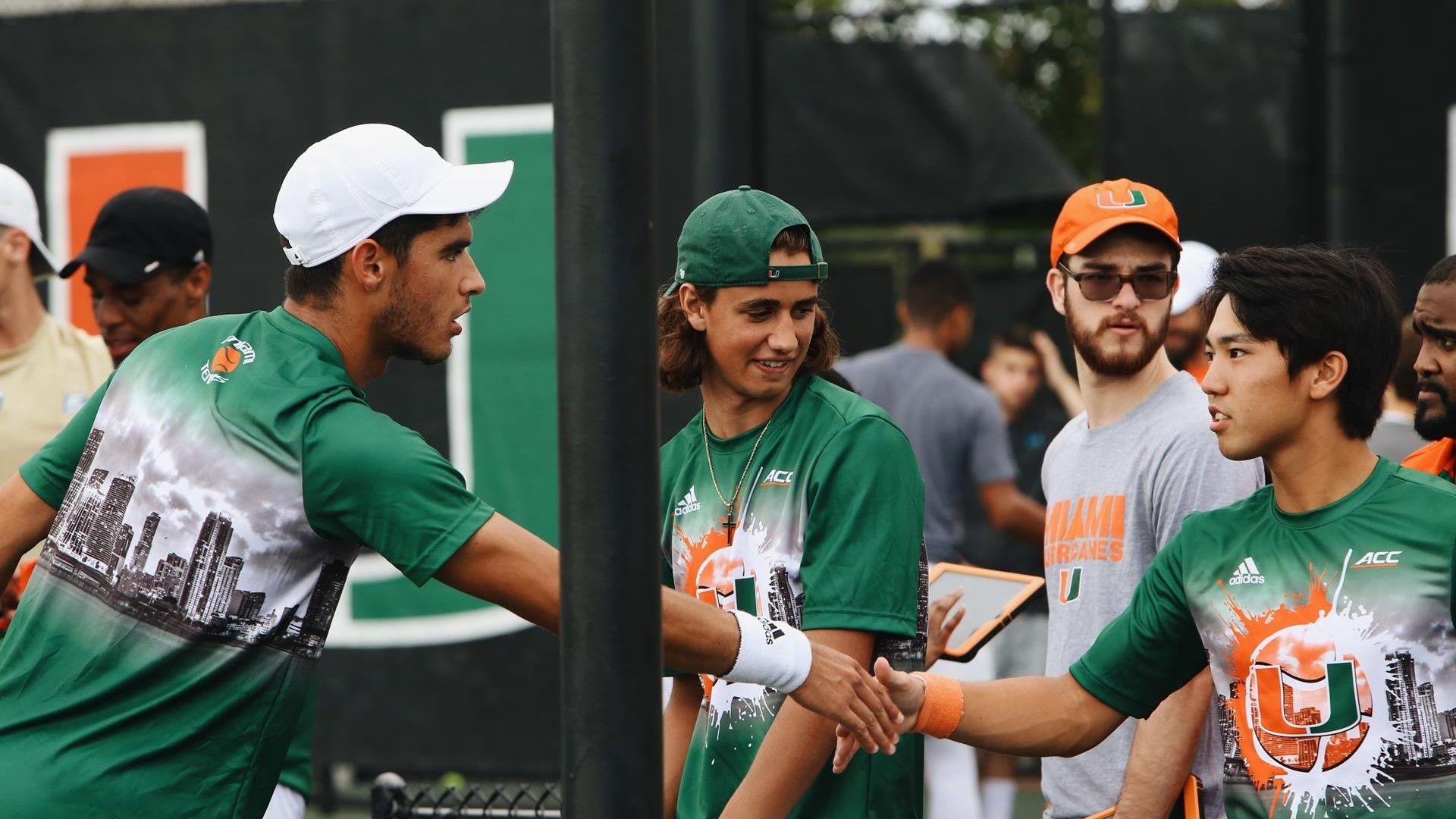 Rookies Star As No. 46 Men's Tennis Tops South Alabama