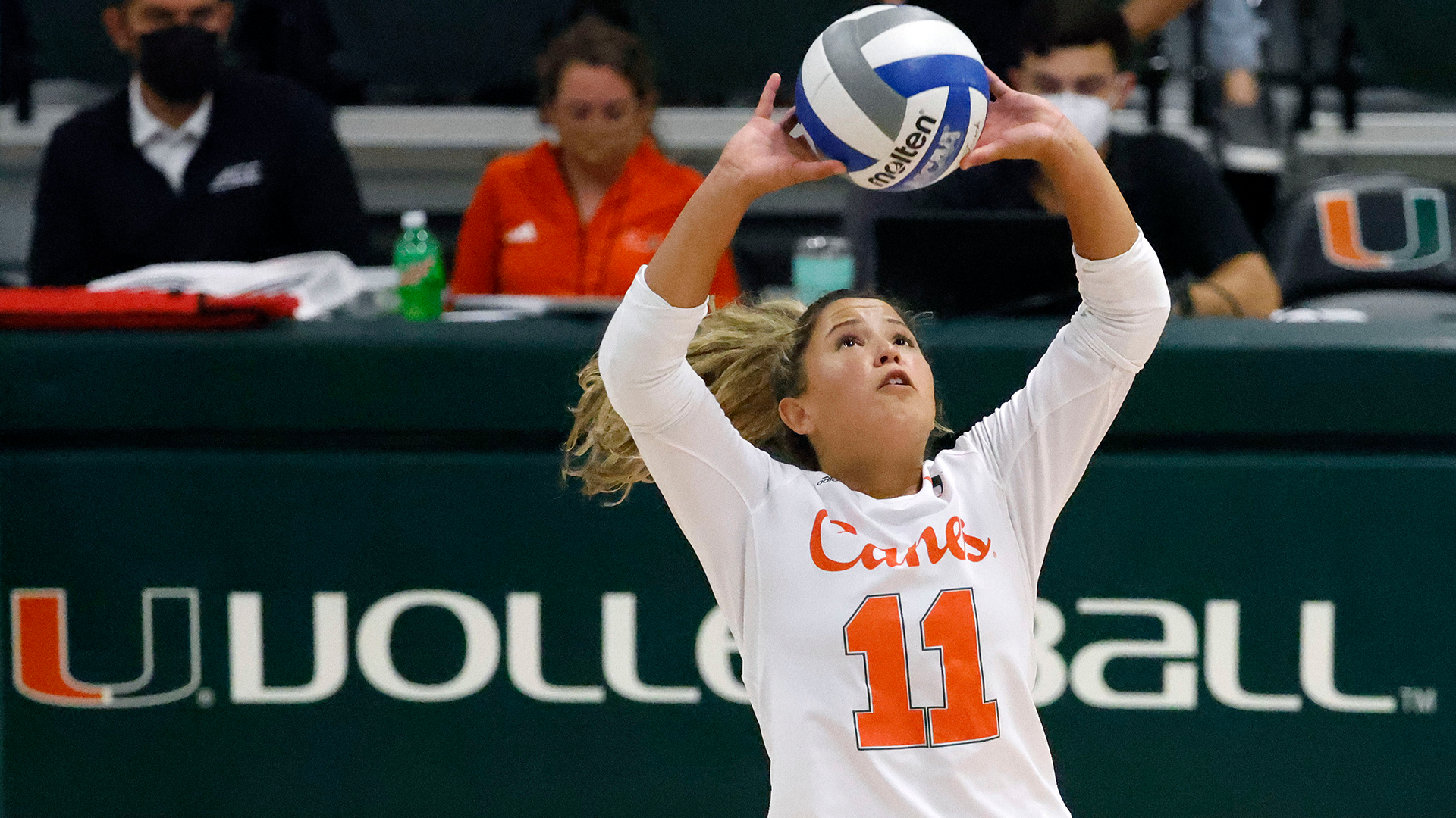 Hispanic Heritage Runs Strong in Canes Volleyball Trio